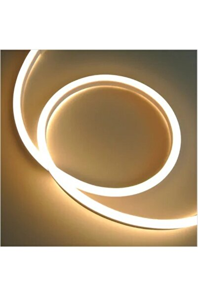 YULED 2 Metre Gün Işığı Neon 220 V Esnek Hortum Şerit Led Işık Aydınlatma + Güç Fişi