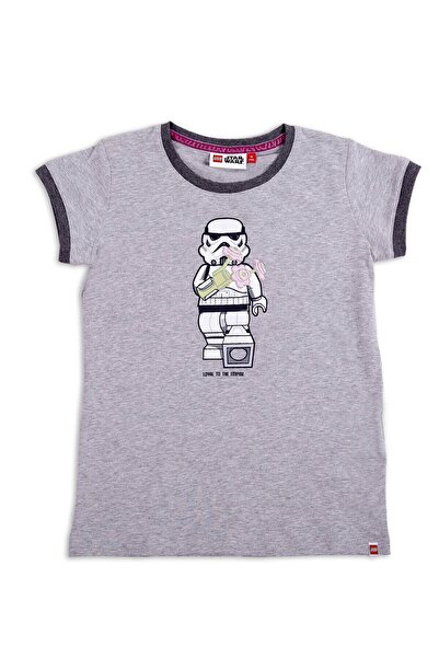 LEGO Unisex Gri Star Wars Çocuk  T-shirt