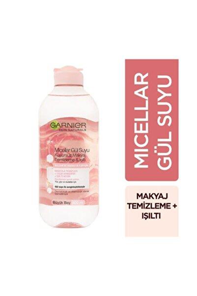 Garnier 2'li Micellar Gül Suyu Kusursuz Makyaj Temizleme & Işıltı 400 ml + Pamukluk