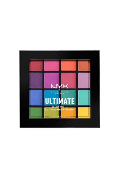 NYX Professional Makeup Pubgm Ultimate Shadow Palette Brights - Far Paleti