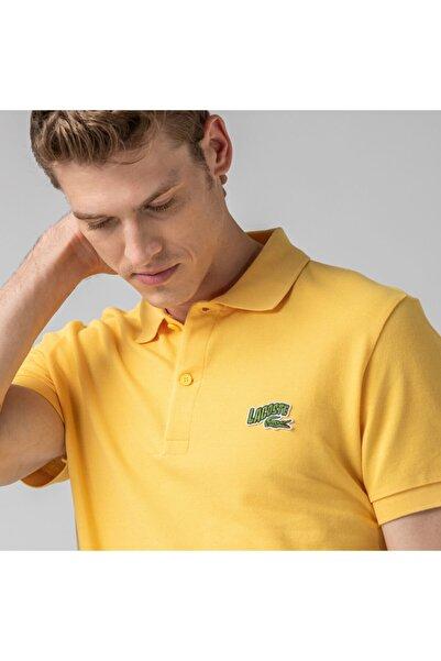 Lacoste Erkek Regular Fit Sarı Polo PH5144