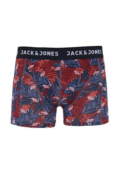 Jack & Jones Jack Jones Herman Trunks Try Erkek Kırmızı Boxer 12146881-17