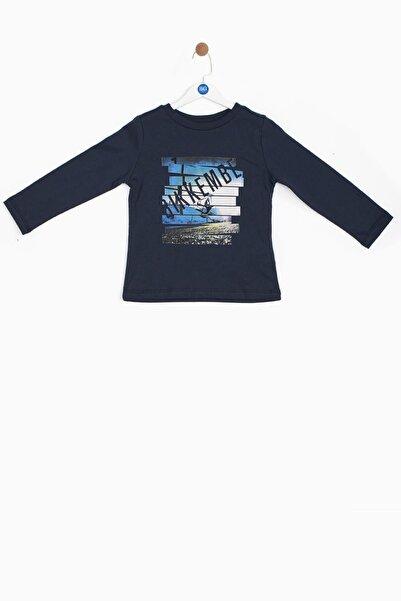 Bikkembergs Erkek Bebek Mavi T-shirt