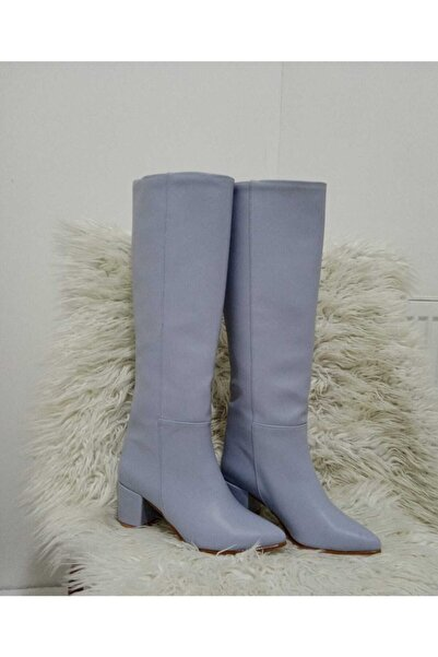 Huff shoes Kadın Mavi Çizme