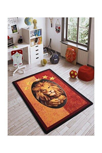 Confetti 133x190 Cm Aslan Galatasaray Gs Sarı Kırmızı Genç Oda Halı