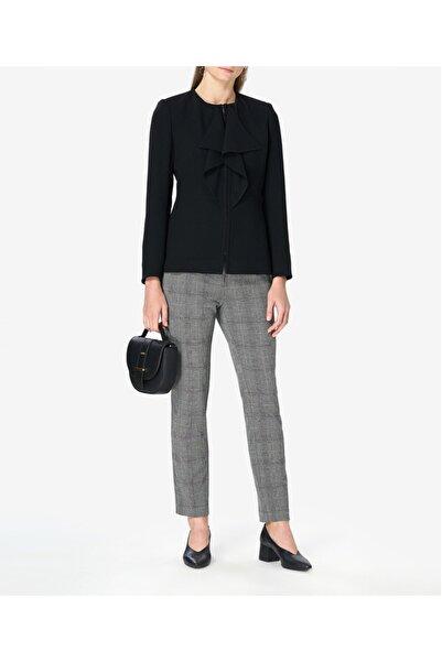 Aker Fırfırlı Siyah Cekets51208075