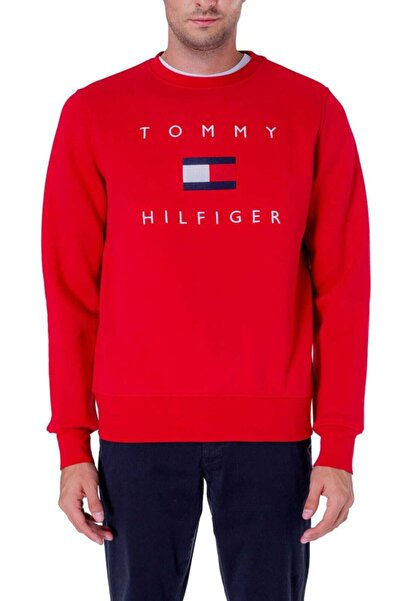 Tommy Hilfiger Jeans Pullover Erkek Sweatshirt