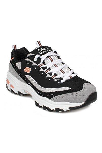 SKECHERS D'LITES -  NEW JOURNEY Kadın Siyah Sneakers