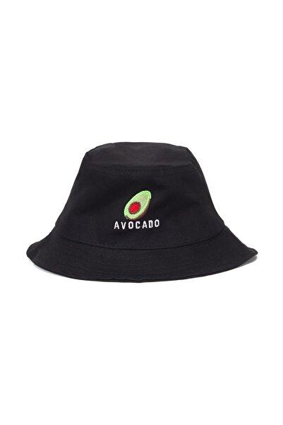 Accessory City Avocado Amblemli Bucket/kova Şapka