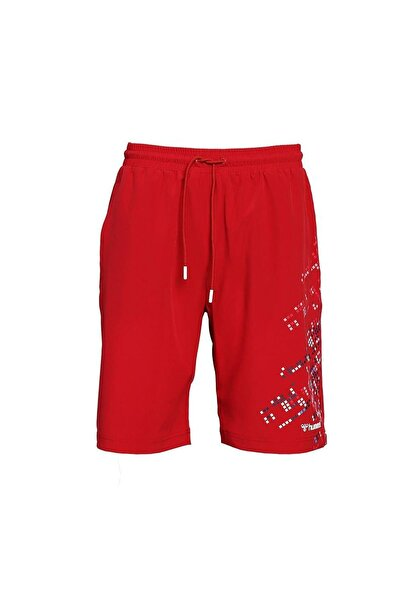 HUMMEL Erkek Kırmızı Wello Deniz Şortu 950052-3331