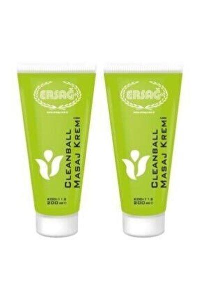 Cleanball Masaj Kremi 2 Adet 200 ml