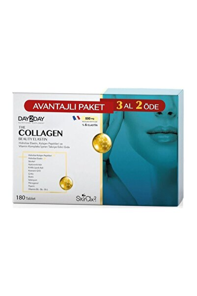 DAY2DAY The Collagen Beauty Elastin 180 Tablet 3 Al 2 Ödea
