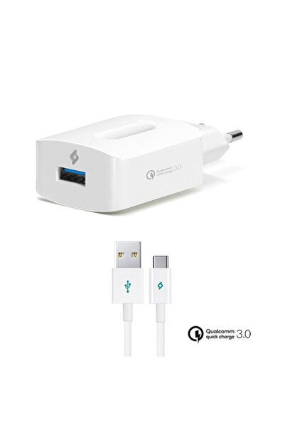Ttec Speedcharger Qc 3.0 Seyahat Hızlı Şarj Aleti+type-c Kablo