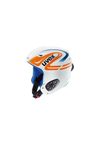 Uvex Wing Ultra Race Kayak Kaskı Mavi/beyaz/turuncu 49-52 Cm