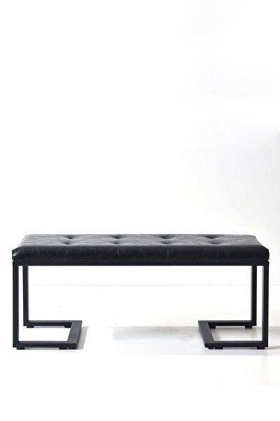 Ahşap Sokağı Verano Bench Siyah