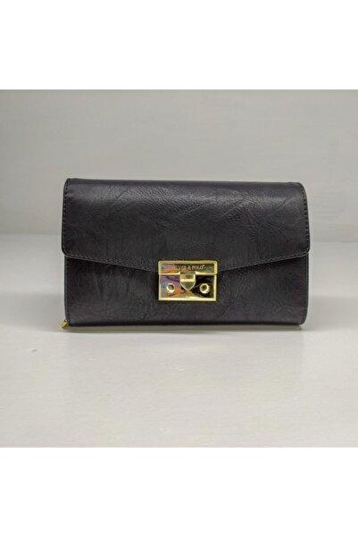 Silver Polo Kadın Siyah Clutch Çanta Slv-947-33160 M10