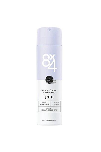 8x4 No.1 Pure Aqua Kadın Sprey Deodorant 150ml