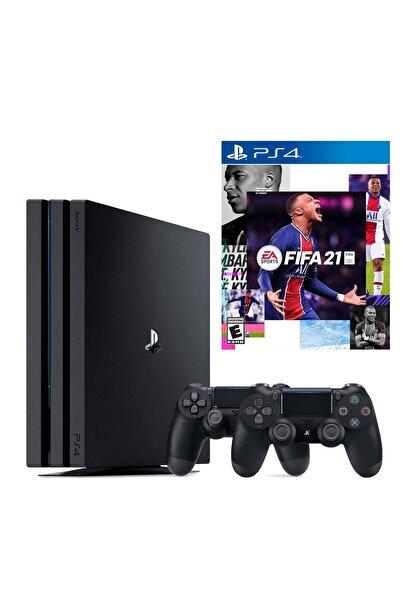 Sony Playstation 4 Pro 1 TB + 2. PS4 Kol + PS4 Fifa 2021