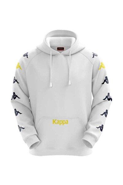 Kappa Erkek Beyaz Sweatshirt