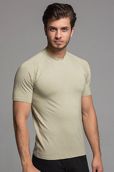 THERMOFORM Erkek Bej Bambu T-shirt