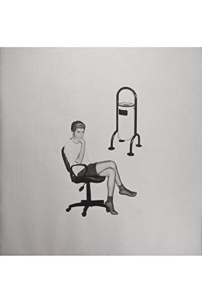 Mustafa Bağcı Isimsizx4, 150x140, Kâğıt Üzerine Kurşun Kalem ve Marker