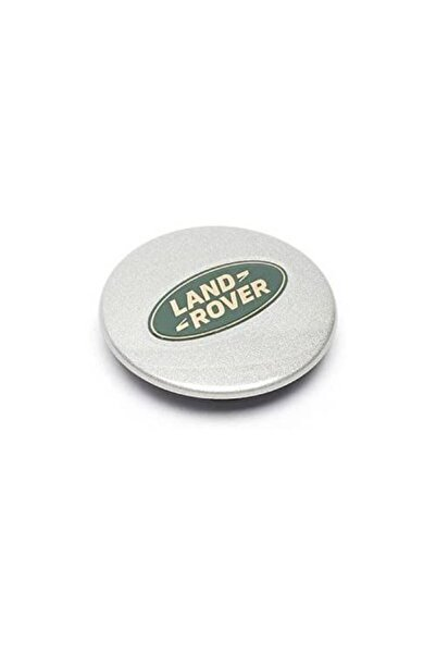 Land Rover Jant Göbeği Arması Dış Çapı 63mm/iç Çapı 52mm- 1 Adet Silver-yüksek Kalite
