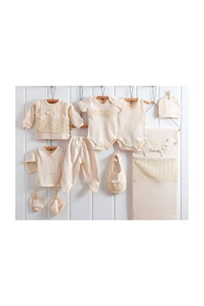 Nenny Baby Kız Bebek 10 Parça Organik Butterfly 0-3 Ay Hastane Çıkışı Seti
