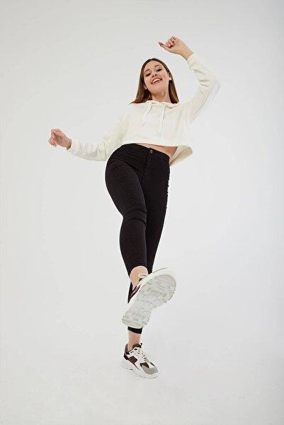 Fashion Friends Yüksel Bel Skinny Jean Pantolon Siyah