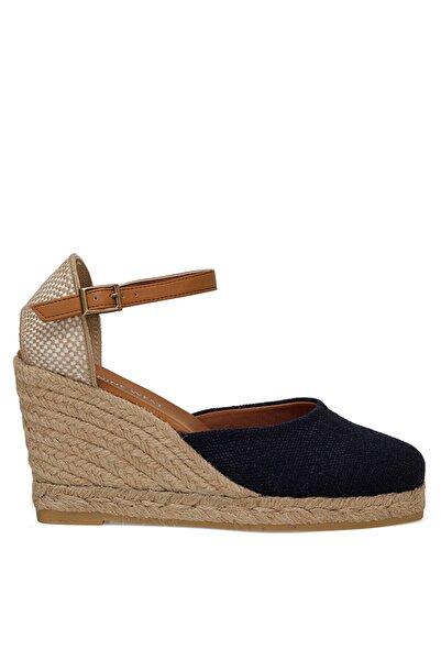 Nine West Kadın Lacivert Artemısıa Dolgu Topuk Sandalet