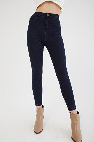 Fashion Friends Yüksel Bel Skinny Jean Pantolon Mavi