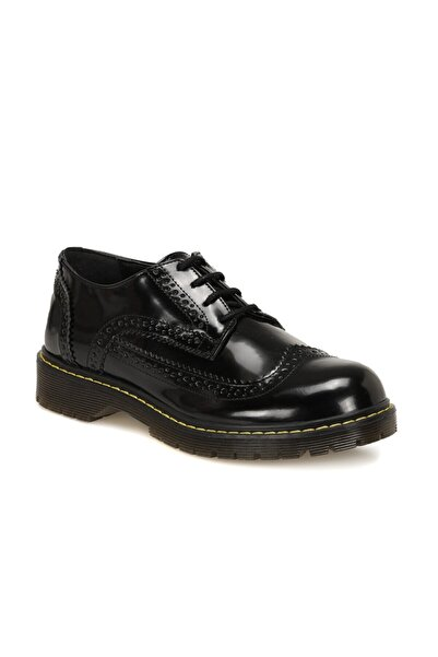 ART BELLA CW20079 Siyah Kadın Oxford Ayakkabı 100579311
