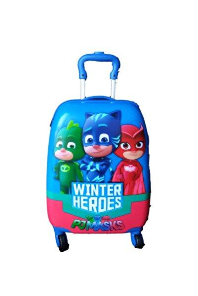 Hakan Çanta Pjmasks Çekçek Özellikli Bavul Çocuk Valizi