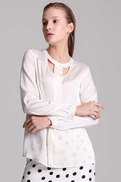 Ekol Kadın Ekru Bluz