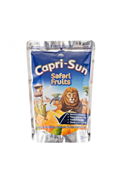 Capri - Sun Caprisun Safari Fruits 200 Ml 20 Adet