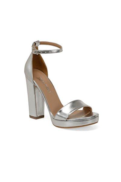 Butigo Lame Kadın Topuklu Ayakkabı