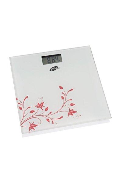 GOLDMASTER Gm-7175w Slim Fit Beyaz Cam Dijital Baskül 2602021