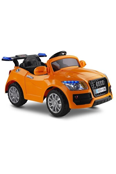 BabyHope Poky Audi 12v Uzaktan Kumandalı Akülü Araba Turuncu