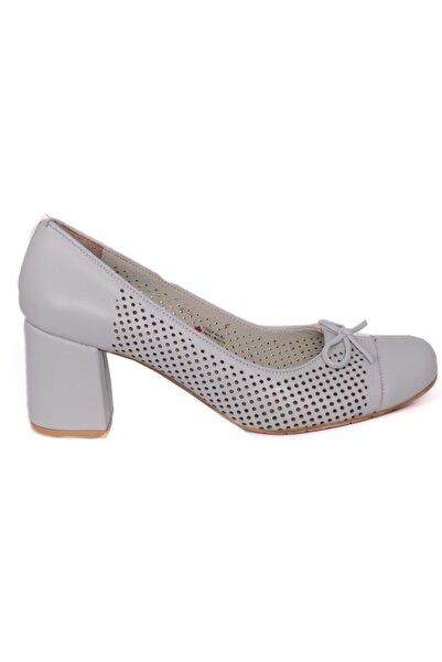 Mammamia Gri Klasik Deri Ayakkabı 53528