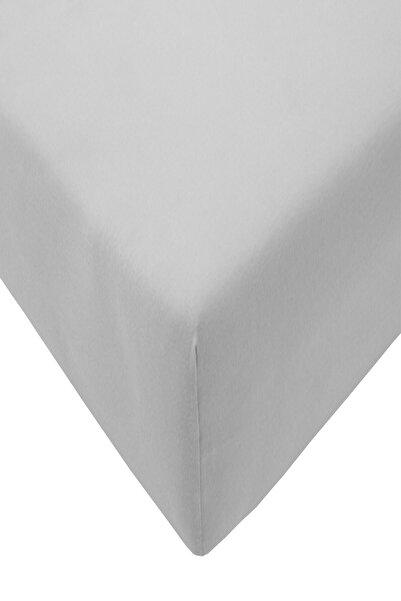 COTENCONCEPT 160X200 + 25 cm Düz Pamuklu Çift Kişilik Lastikli Fitted Penye Çarşaf