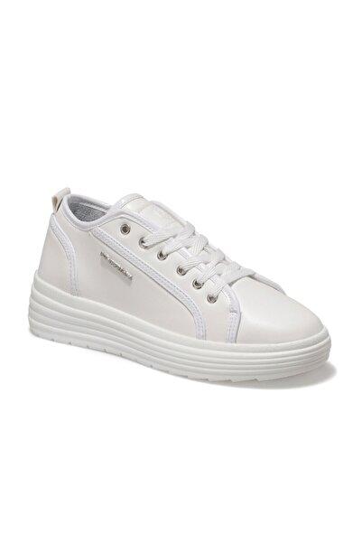 lumberjack Kadın Beyaz Sneaker Ayakkabı