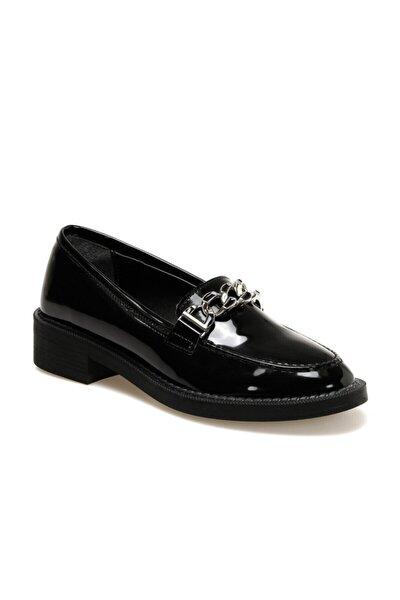 Butigo Kadın  Siyah Loafer Ayakkabı
