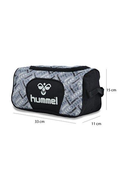 HUMMEL Spor El Çantası / Ayakkabı Çantası Dark Grey Melange Hml Flecha Toıletry Bag
