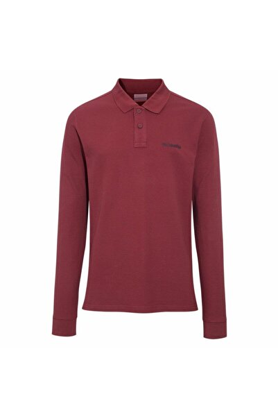 Columbia M Cascade Range Solid Ls Polo Sweatshirt Cs0099-678