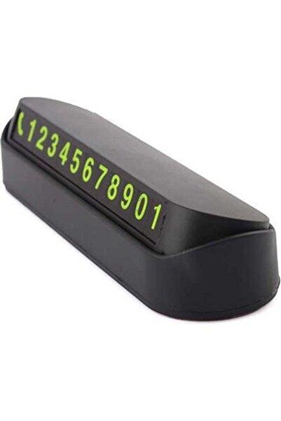 Sunix Fosforlu Acılır Kapanabilir Numaratör Ön Torpido Üstü Telefon Numarası Göstergesi Araba