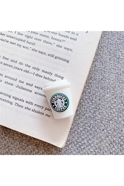 MY MÜRDÜM Sevimli Silikon Starbucks Kahve  Kablo Koruyucu