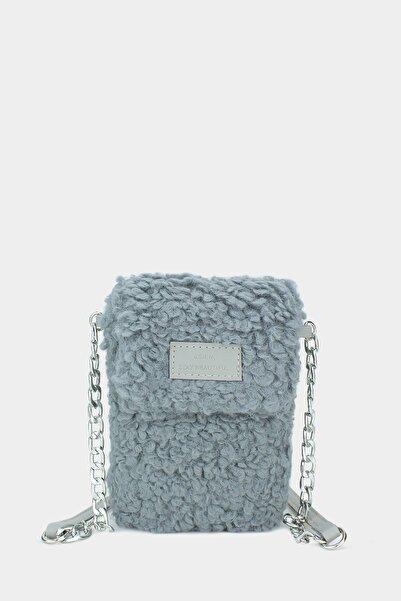 Housebags Peluş Omuz Askılı Cep Telefonu Çantası 199