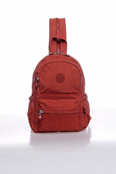 SMART BAGS Kadın Kiremit Küçük Sırt Çantası Smbk1030-0128