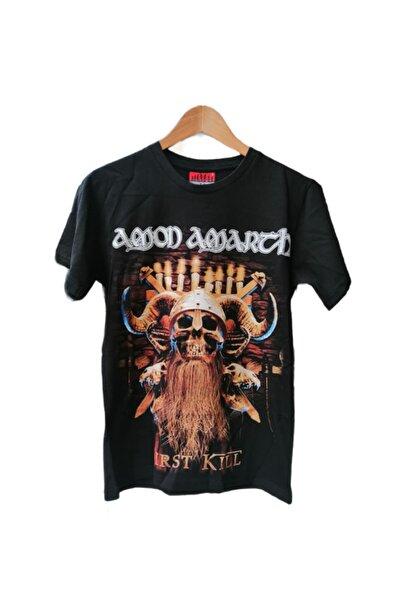 Atlantis Kayrakarakutu Amon Amarth Baskılı T-shirt