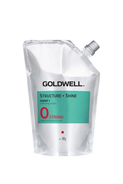 GOLDWELL Structure + Shine Agent 1 Doğal Saçlar Için Düzleştirici Krem 0 Strong 400 G