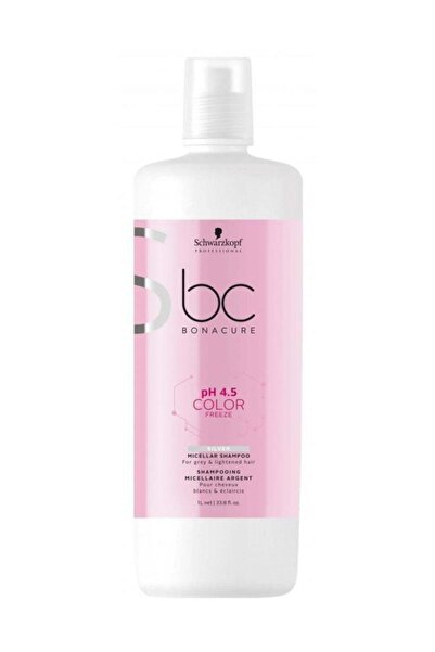 Bonacure Schwarzkopf Bonacure Ph 4,5 Color Freeze Silver Şampuan 1000 ml
